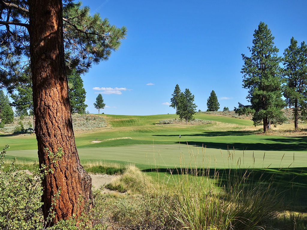 7th Hole at Silvies Valley Ranch (Craddock) (260 Yard Par 3)