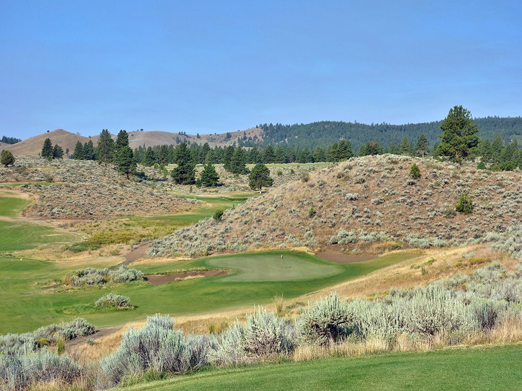 2nd Hole at Silvies Valley Ranch (Hankins) (150 Yard Par 3)