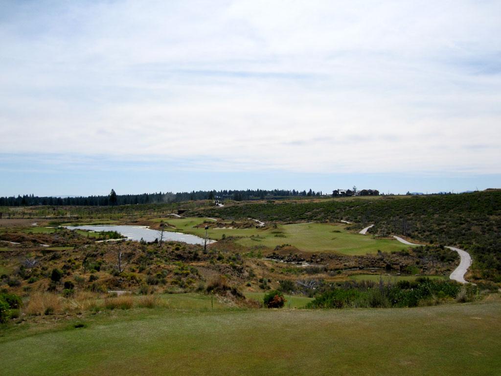 6th Hole at Tetherow (424 Yard Par 4)