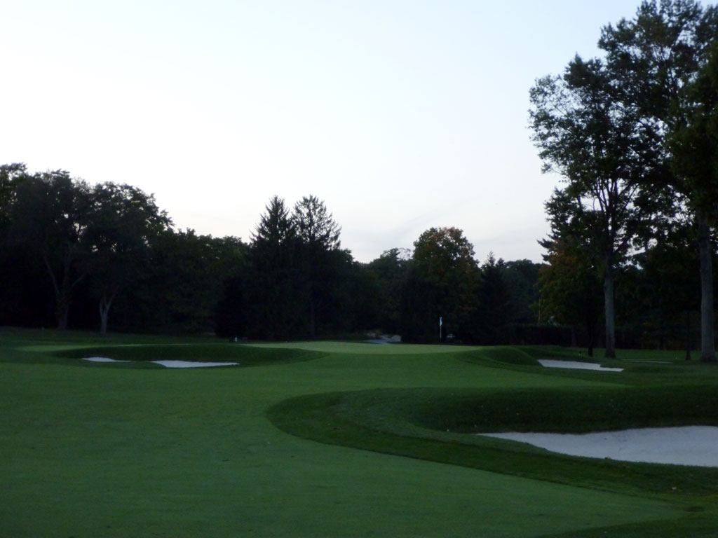 16th Hole at Aronimink Golf Club (558 Yard Par 5)