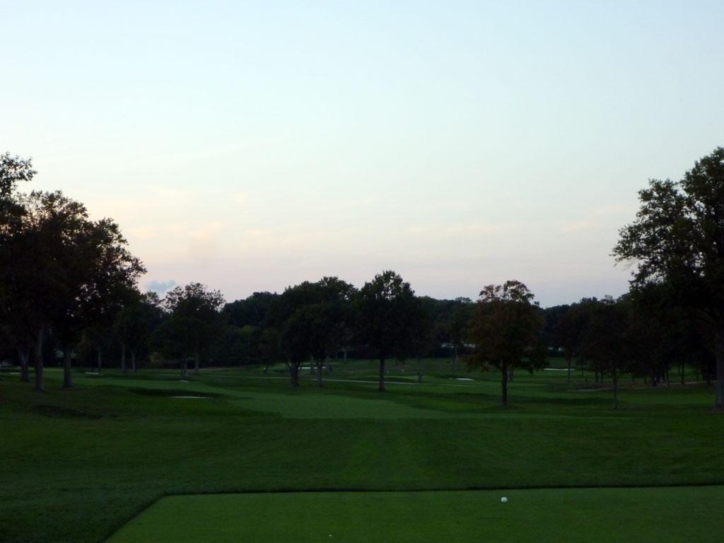 16th Hole at Aronimink Golf Club (558 Yard Par 5)