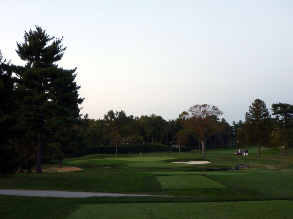 17th Hole at Aronimink Golf Club (215 Yard Par 3)