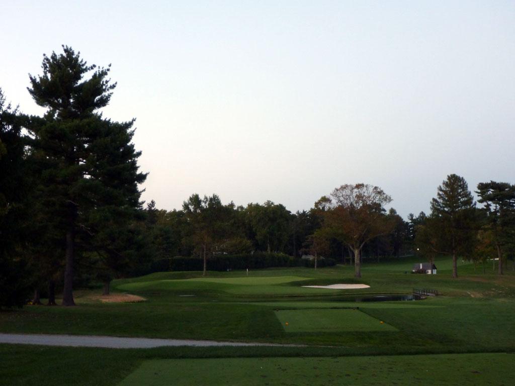 17th Hole at Aronimink Golf Club (215 Yard Par 3)