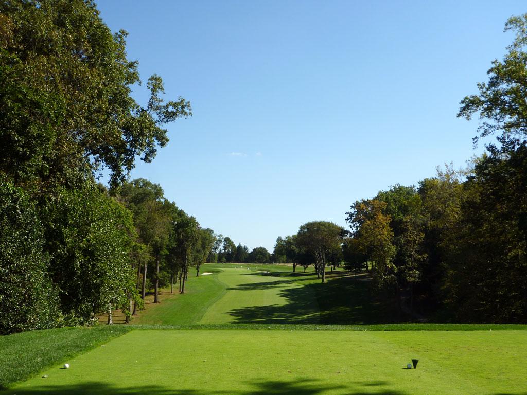 1st Hole at Aronimink Golf Club (428 Yard Par 4)