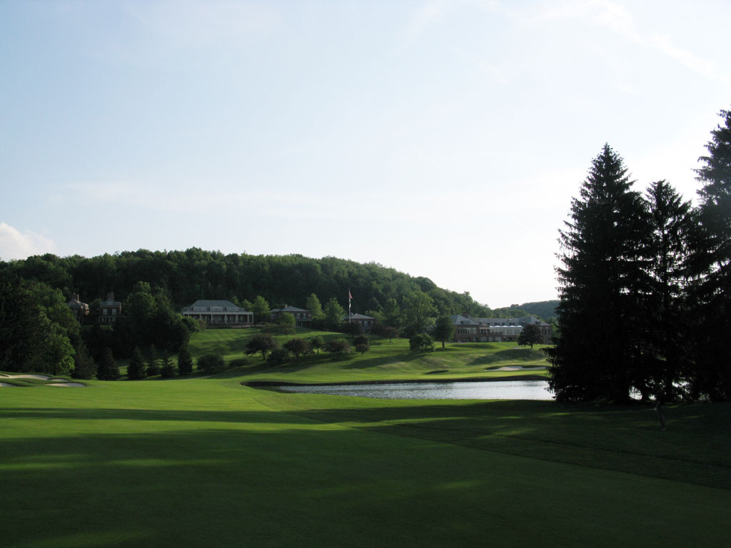 18th Hole at Laurel Valley Golf Club (537 Yard Par 5)