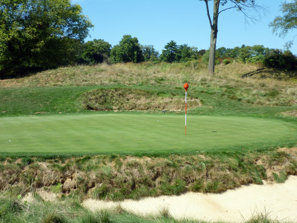 17th Hole at Merion Golf Club (East) (220 Yard Par 3)