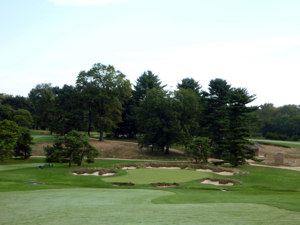 4th Hole at Merion Golf Club (East) (600 Yard Par 5)
