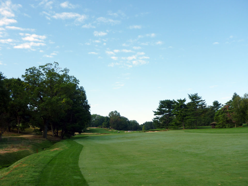 5th Hole at Merion Golf Club (East) (418 Yard Par 4)