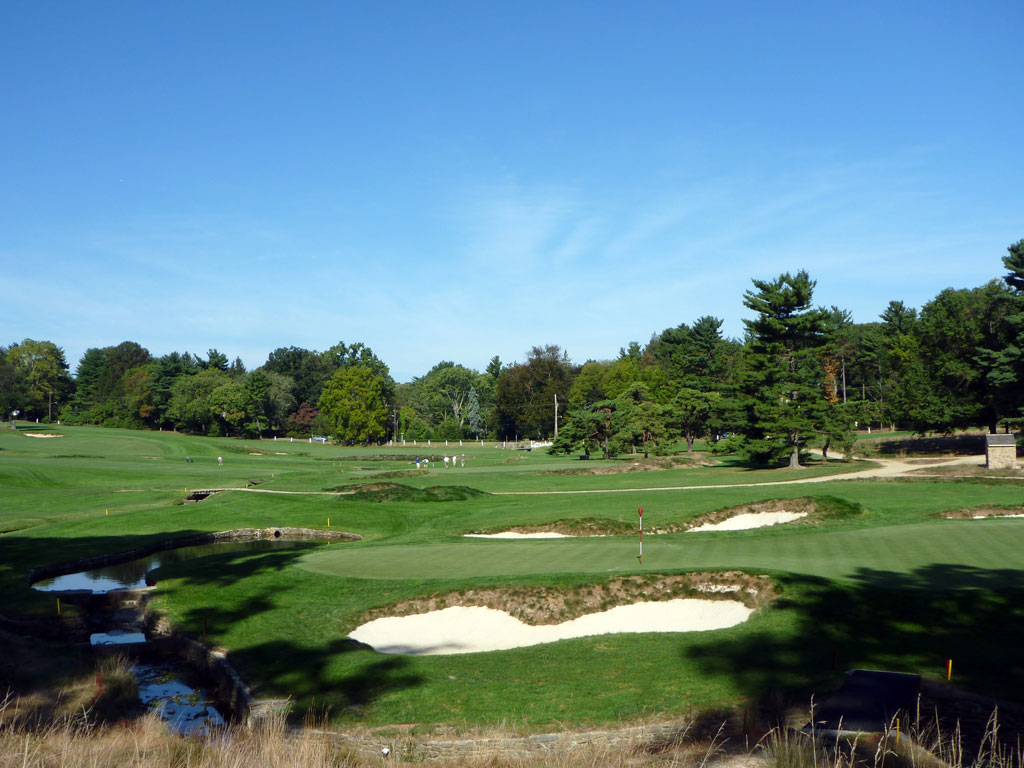 Merion 9th hole