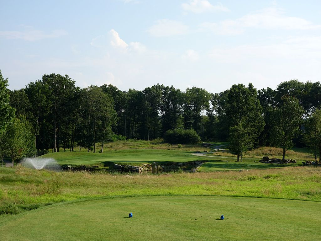 12th Hole at Mystic Rock at Nemacolin Woodlands Resort (185 Yard Par 3)