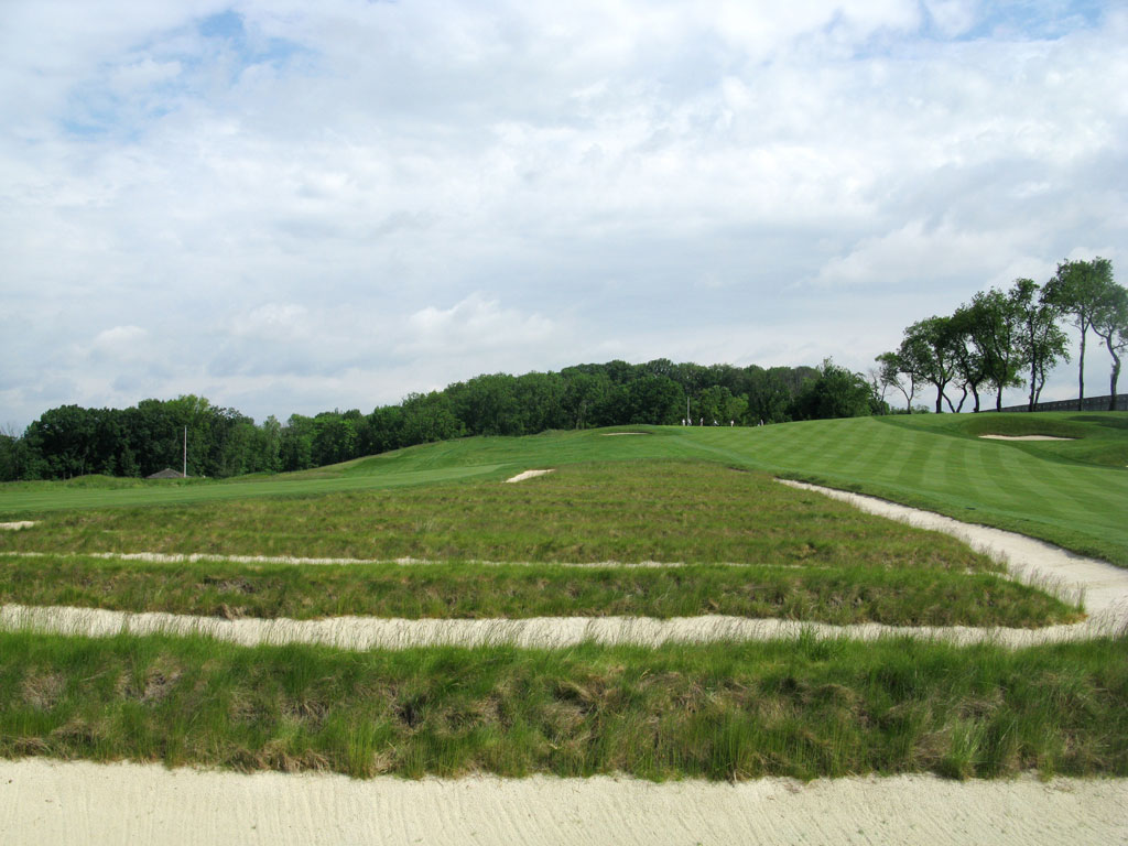 3rd Hole at Oakmont Country Club (478 Yard Par 4)
