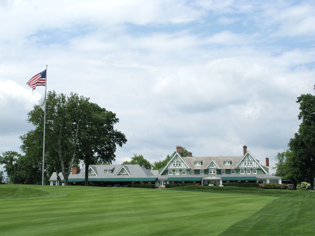 Clubhouse at Oakmont Country Club