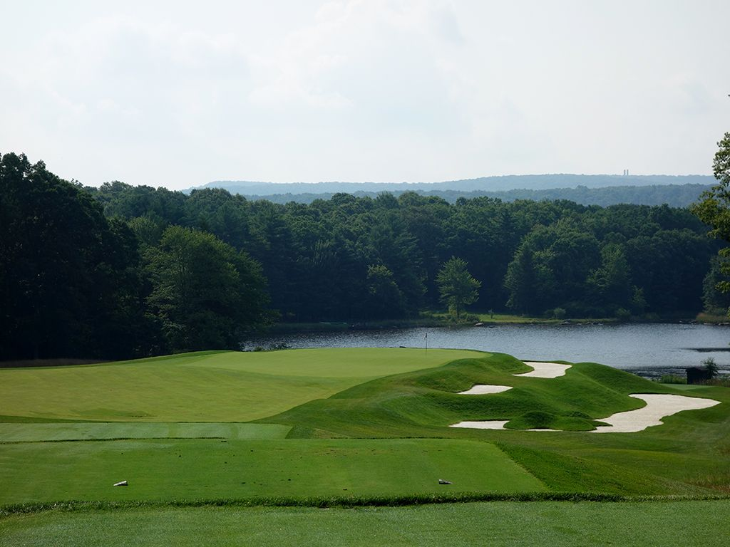 5th Hole at Shepherd's Rock at Nemacolin Woodlands Resort (214 Yard Par 3)