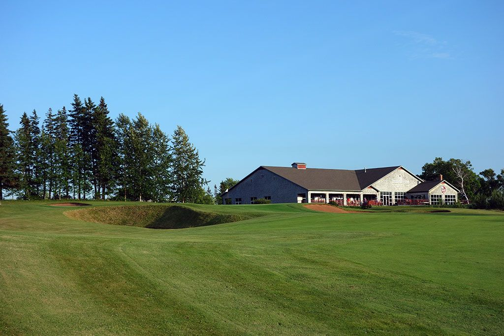 18th Hole at Dundarave Golf Course (522 Yard Par 5)