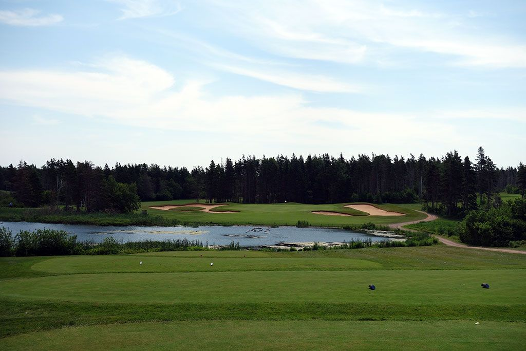 16th Hole at Green Gables Golf Club (196 Yard Par 3)