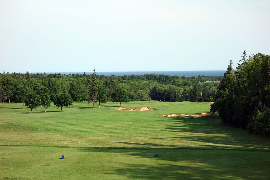 3rd Hole at Green Gables Golf Club (546 Yard Par 5)