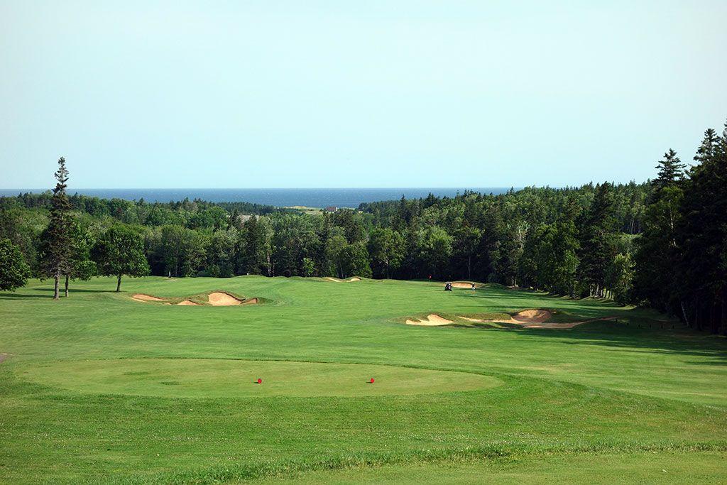 3rd Hole at Green Gables Golf Club (546 Yard Par 5)