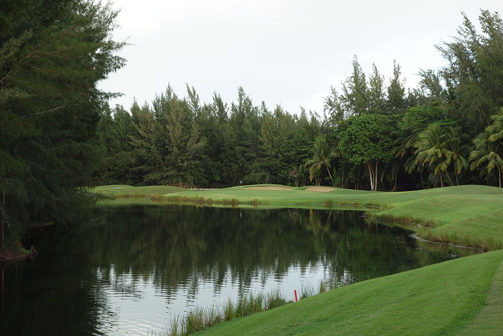 4th Hole at Bahia Beach Resort and Golf Club (185 Yard Par 3)