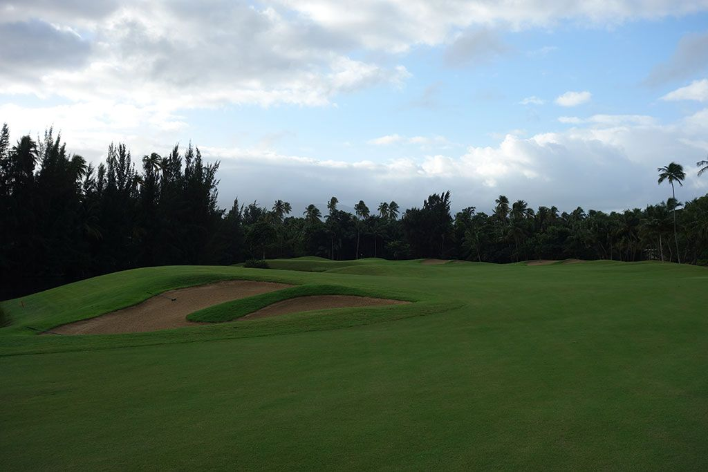 5th Hole at Bahia Beach Resort and Golf Club (568 Yard Par 5)