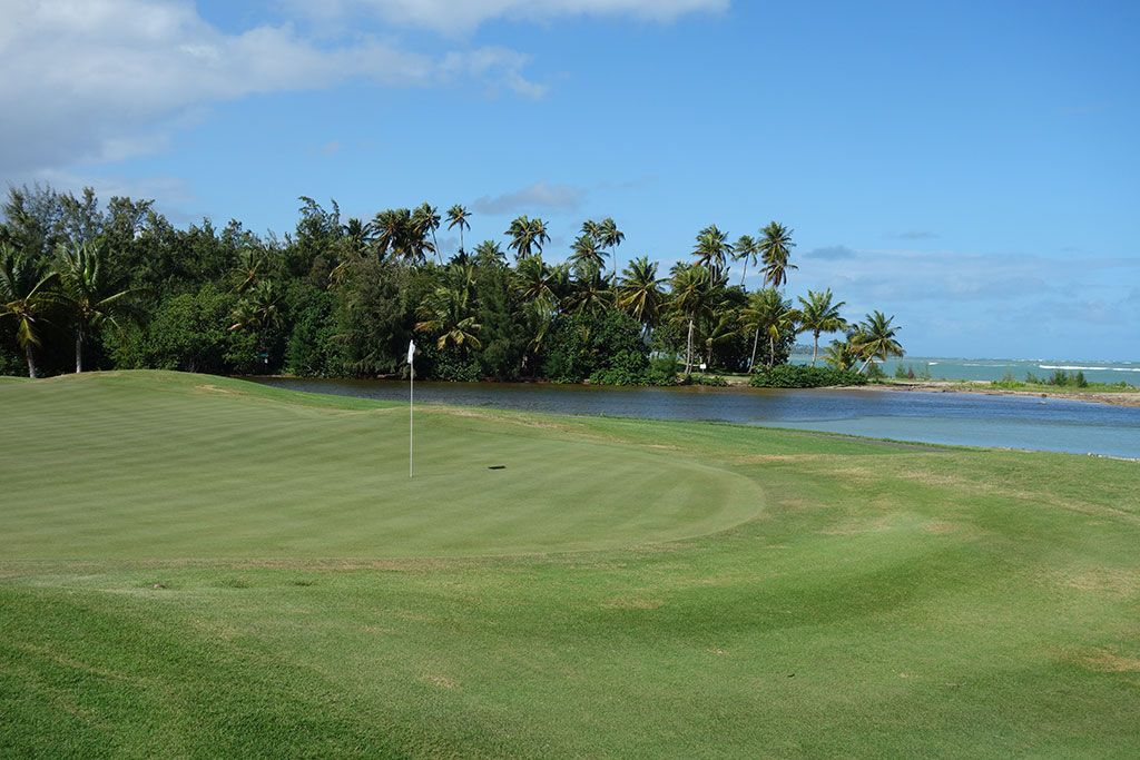 12th Hole at Coco Beach Golf and CC (Championship) (465 Yard Par 4)