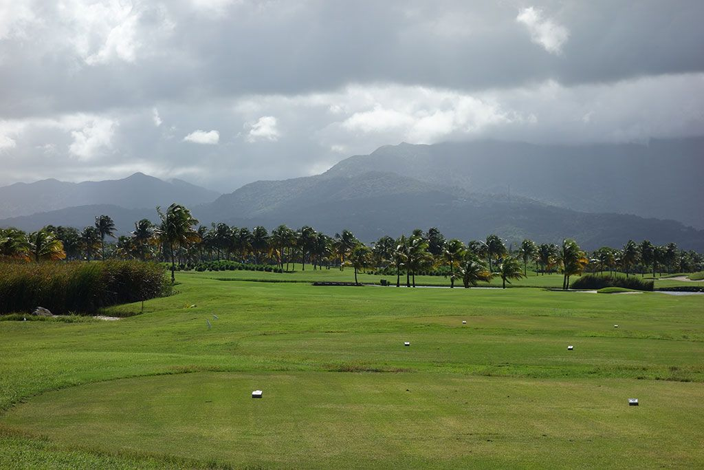 13th Hole at Coco Beach Golf and CC (Championship) (416 Yard Par 4)