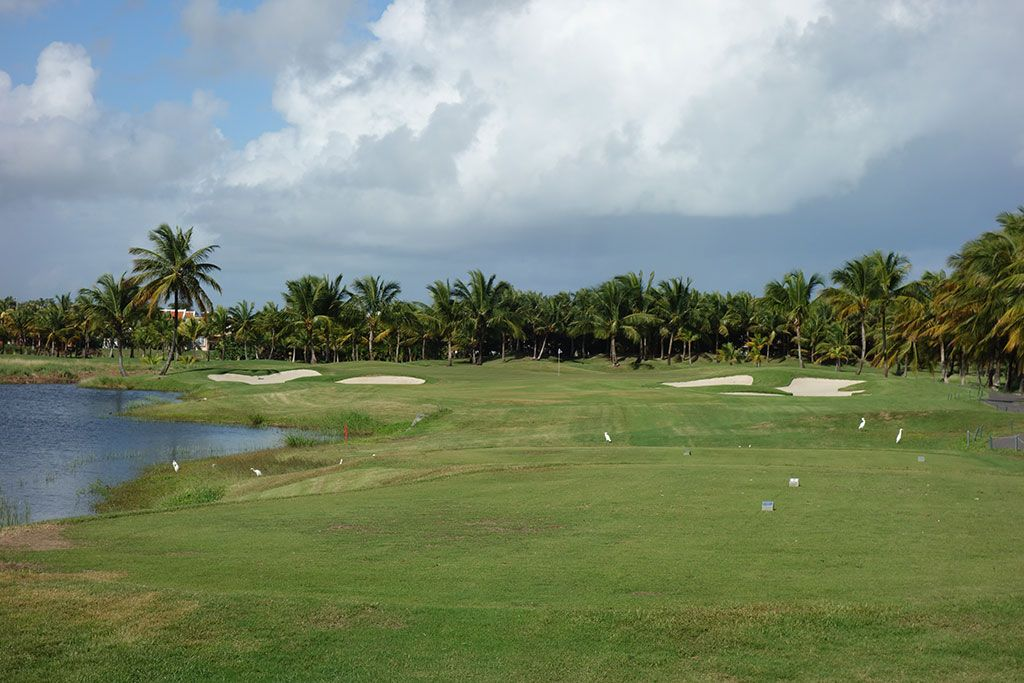 8th Hole at Coco Beach Golf and CC (Championship) (236 Yard Par 3)
