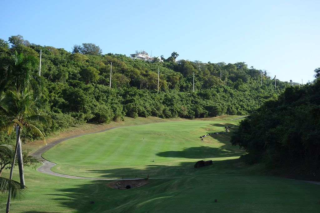 13th Hole at El Conquistador Resort (339 Yard Par 4)