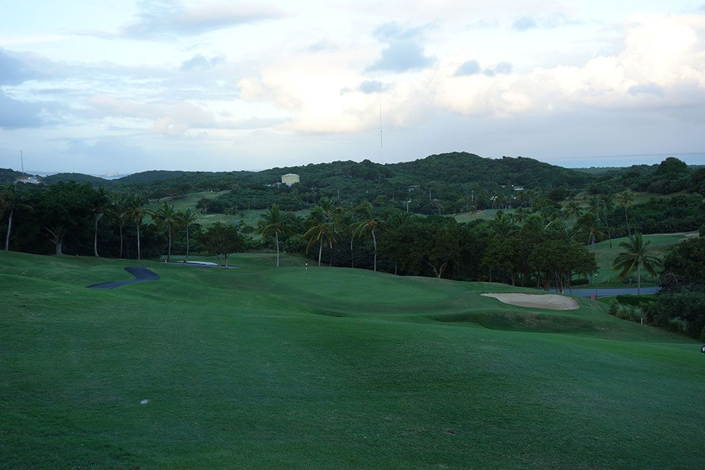 1st Hole at El Conquistador Resort (395 Yard Par 4)