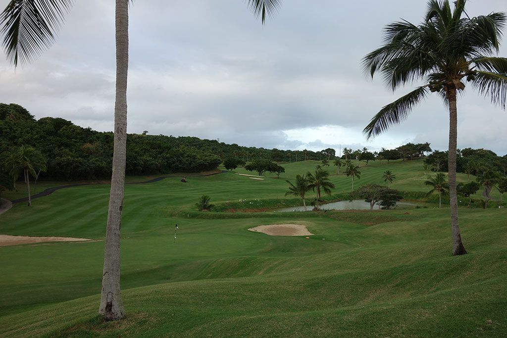 5th Hole at El Conquistador Resort (431 Yard Par 4)