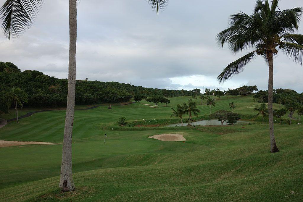 5th Hole at El Conquistador Resort (431 Yard Par 4)