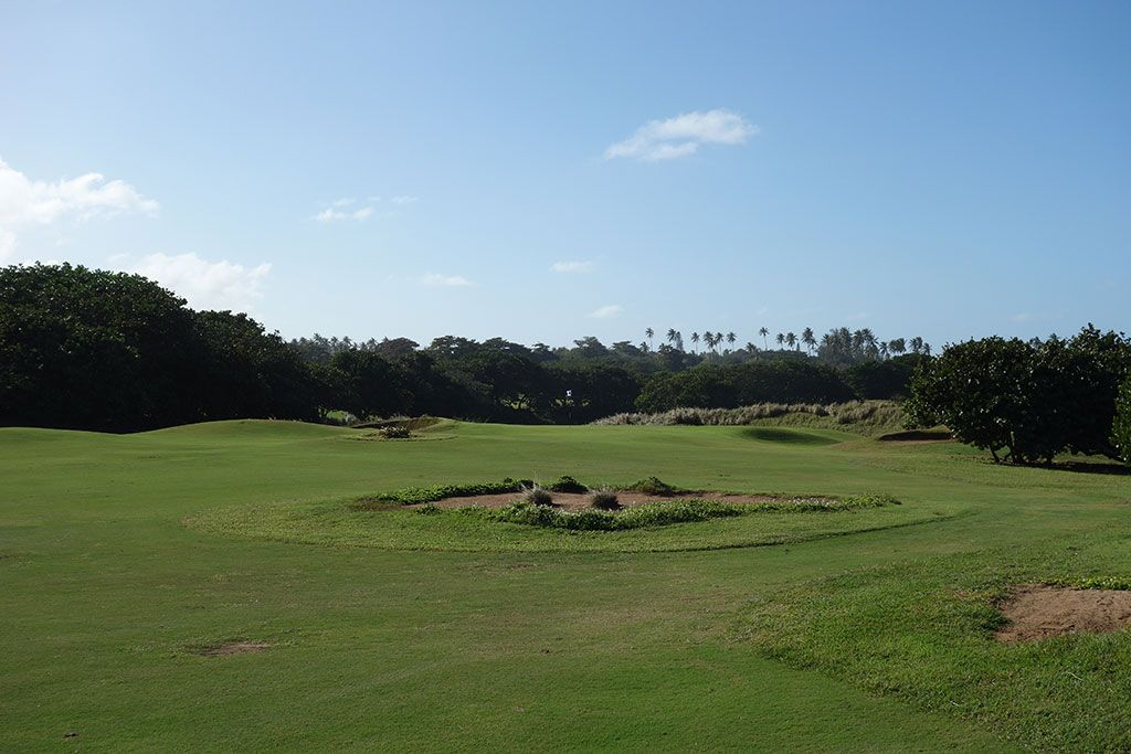 10th Hole at Royal Isabela (578 Yard Par 5)