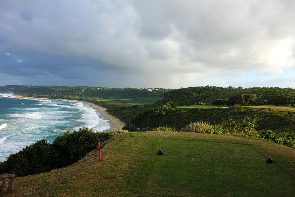17th Hole at Royal Isabela (200 Yard Par 3)