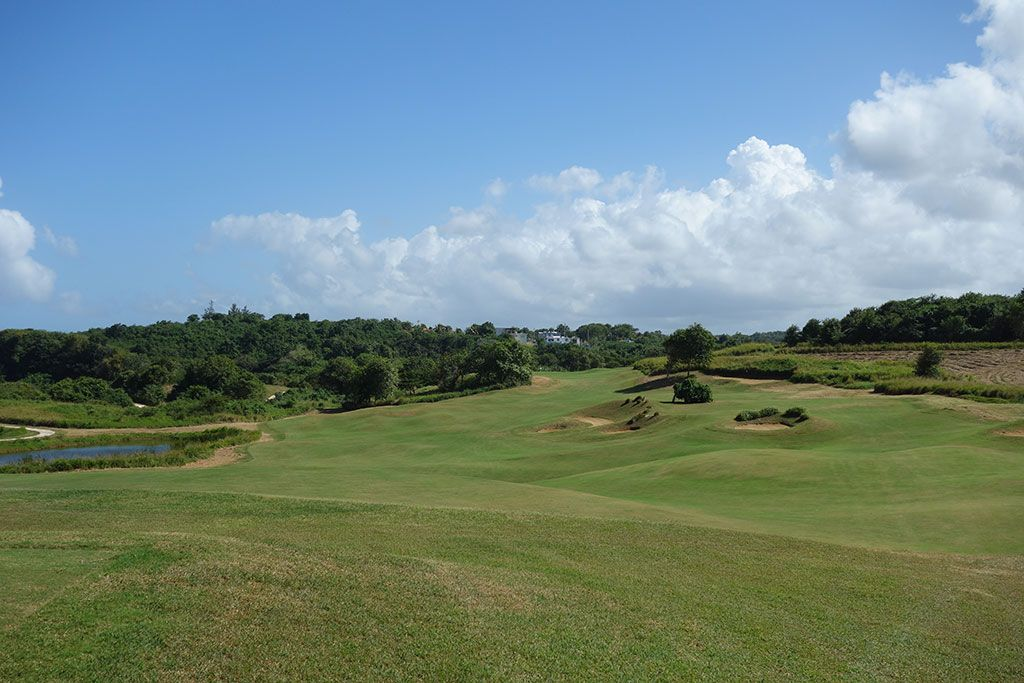1st Hole at Royal Isabela (525 Yard Par 5)