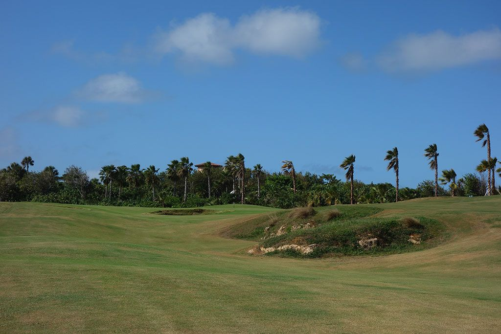 6th Hole at Royal Isabela (493 Yard Par 4)