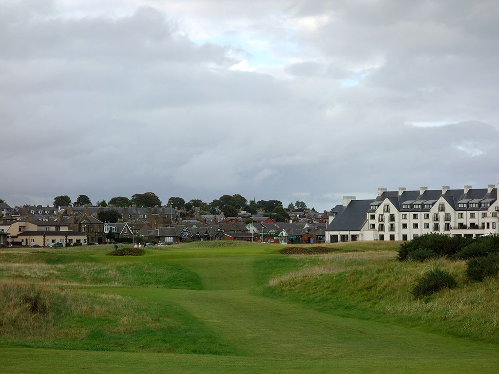 16th (Barry Burn) Hole at Carnoustie Golf Links (Championship) (248 Yard Par 3)