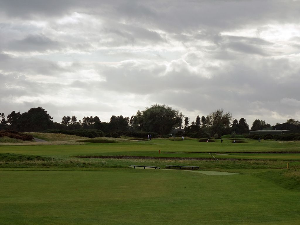 17th (Island) Hole at Carnoustie Golf Links (Championship) (461 Yard Par 4)