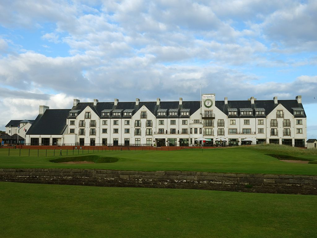18th (Home) Hole at Carnoustie Golf Links (Championship) (499 Yard Par 4)