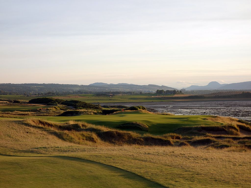 18th Hole at Castle Stuart Golf Links (595 Yard Par 5)