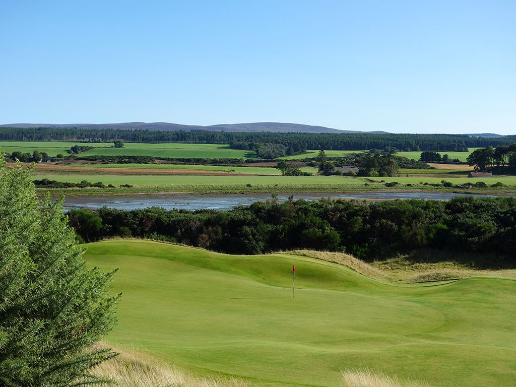 4th Hole at Castle Stuart Golf Links (191 Yard Par 3)