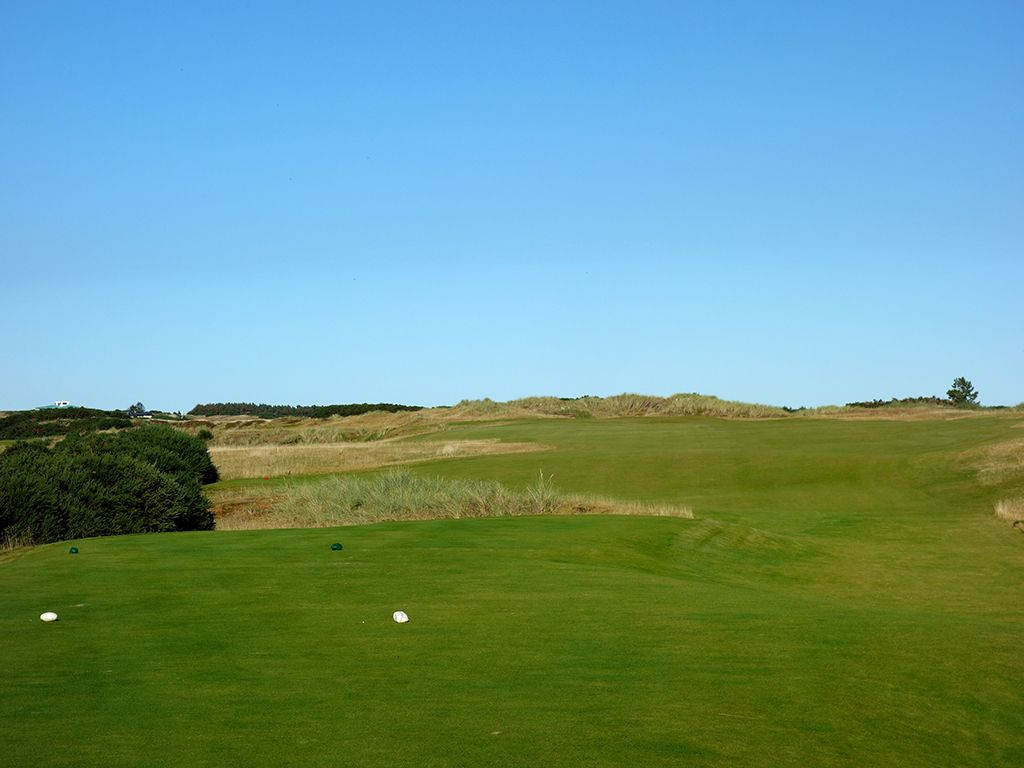7th Hole at Castle Stuart Golf Links (461 Yard Par 4)