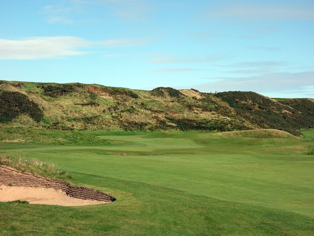 13th Hole at Cruden Bay Golf Club (571 Yard Par 5)