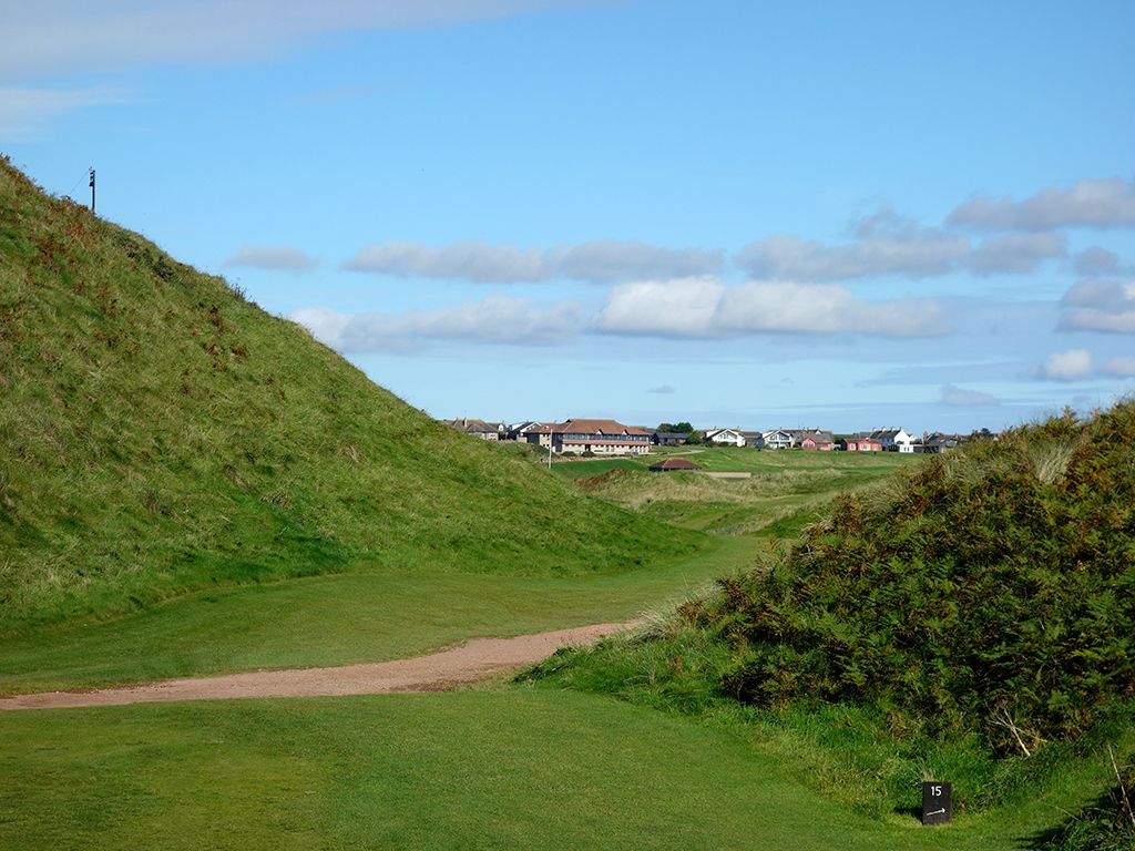 15th Hole at Cruden Bay Golf Club (195 Yard Par 3)