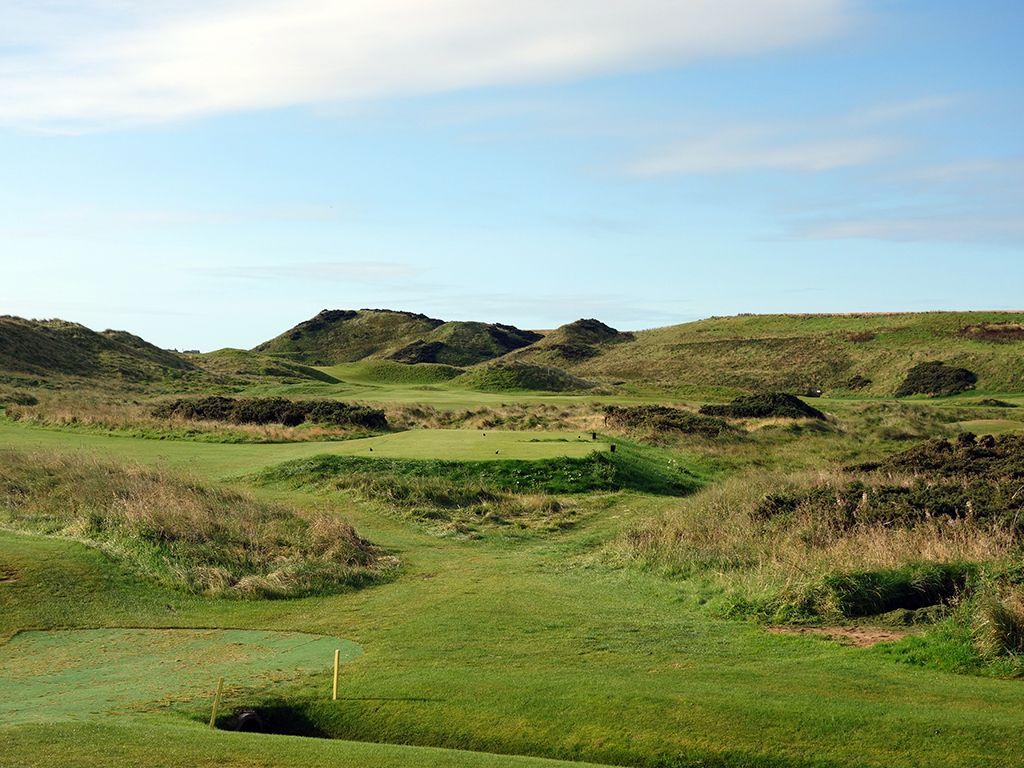 7th Hole at Cruden Bay Golf Club (458 Yard Par 4)