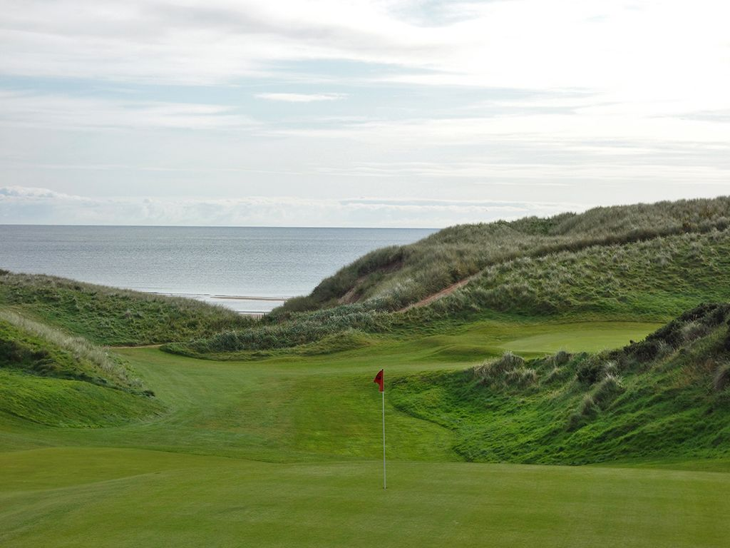 8th Hole at Cruden Bay Golf Club (250 Yard Par 4)
