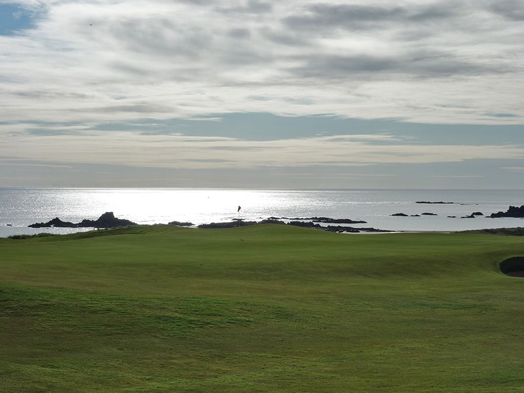 9th Hole at Cruden Bay Golf Club (462 Yard Par 4)