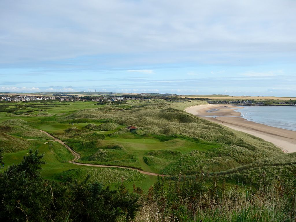 The front nine at Cruden Bay