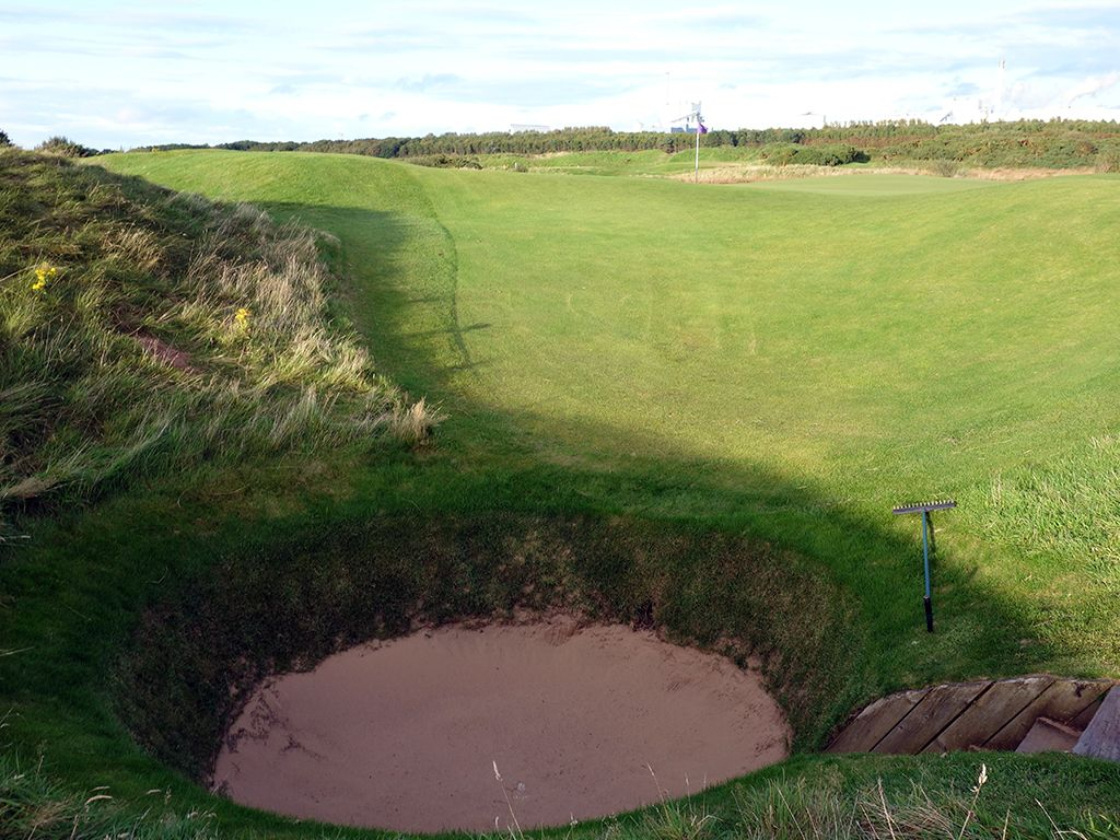 11th Hole at Dundonald Links (120 Yard Par 3)