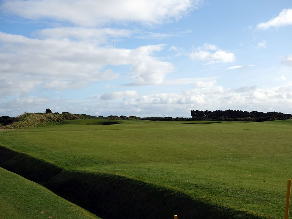 3rd Hole at Dundonald Links (540 Yard Par 5)