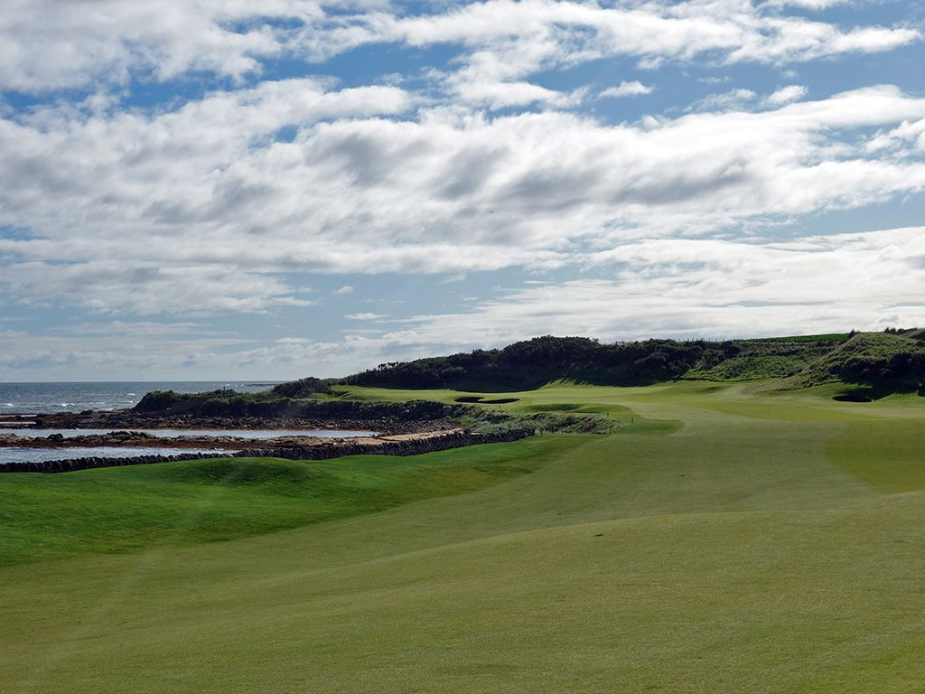 12th Hole at Kingsbarns Golf Links (606 Yard Par 5)