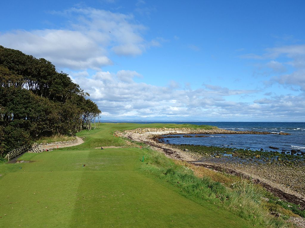 15th Hole at Kingsbarns Golf Links (212 Yard Par 4)